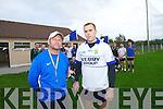 Saint Brendans Ardfert manager Pat O'Driscoll captain Eamon Corridan