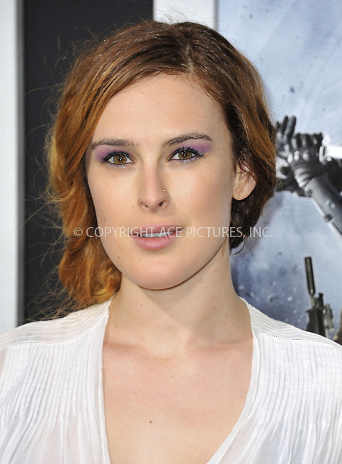 WWW.ACEPIXS.COM....March 28 2013, LA....Rumer Willis arriving at the 'G.I. Joe: Retaliation' Los Angeles premiere at the TCL Chinese Theatre on March 28, 2013 in Hollywood, California.......By Line: Peter West/ACE Pictures......ACE Pictures, Inc...tel: 646 769 0430..Email: info@acepixs.com..www.acepixs.com