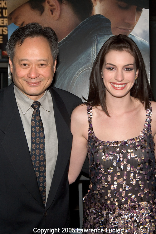 Ang Lee and Anne Hathway