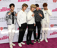 TXT at iHeartRadio KIIS FM Wango Tango at the Dignity Health Sports Park.