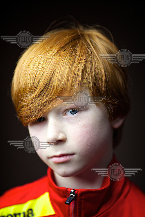 "Stewart Black, 9, Glasgow<br /> I was born in Glasgow, both side of the family have red hair. Mum says its red not ginger because ginger is a spice<br /> <br /> I have more confidence, maybe getting teased made me stronger. people touch my head and say ""oh it burns!"" and call me volcano head but most of my friends support Celtic so thats ok.  I got teased at school but then I reminded them Neil Lennon (Celtic FC manager) is red and they stopped it. Others ask '""Why is your hair that colour?  Do you drink a lot of Irn-Bru?"".<br /> <br /> Mum says its very helpful to find me in a crowd. No-one in my year with red hair which we get trouble, I am easy to spot.<br /> <br /> I think it makes me faster at running than my friends and better at stuff than others.  it gives me strength!<br /> <br /> In India people took pictures of me, they said Mohammed had red hair."