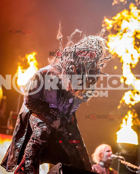 LAS VEGAS, NV - September 29:  Rob Zombie perfoms at Mandalay Bay Events Center on September 29, 2012 in Las Vegas, Nevada. © Kabik/ Starlitepics/MediaPunch Inc. /NortePhoto
