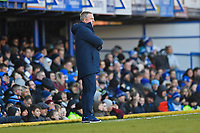 Portsmouth Manager Kenny Jackett watches the play during Portsmouth vs Doncaster Rovers, Sky Bet EFL League 1 Football at Fratton Park on 2nd February 2019