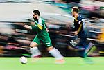 Stockholm 2015-02-16 Fotboll Tr&auml;ningsmatch Hammarby IF - LA Galaxy :  <br /> Hammarbys Pablo Pinones-Arce Pinones Arce i aktion under matchen mellan Hammarby IF och LA Galaxy <br /> (Foto: Kenta J&ouml;nsson) Nyckelord:  Fotboll Tr&auml;ningsmatch Tele2 Arena Hammarby HIF Bajen Los Angeles LA Galaxy panorering fart speed