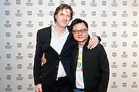 IFFR 2012, International Film Festival Rotterdam, Eric Khoo, Rutger Wolfson, Premiere, TIGERWALL, Photo by Nichon Glerum Copyright and ownership by photographer. FOR IFFR USE ONLY. Not to be (re-)distributed in any form. Copyright and ownership by photographer. FOR IFFR USE ONLY. Not to be (re-)distributed in any form.
