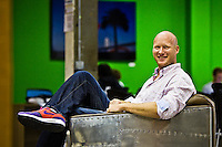 Bo Fishback pictures: Executive portrait photography of Bo Fishback, CEO of Zaarly, by San Francisco corporate photographer Eric Millette