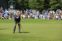 Vijay Singh (FIJ) putts on the 18th green during Saturday's Round 3 of the 2017 PGA Championship held at Quail Hollow Golf Club, Charlotte, North Carolina, USA. 12th August 2017.<br /> Picture: Eoin Clarke | Golffile<br /> <br /> <br /> All photos usage must carry mandatory copyright credit (&copy; Golffile | Eoin Clarke)