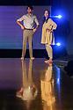"London, UK. 10.09.2018. Bush Theatre presents ""AN ADVENTURE"", by Vinay Patel. Directed by Madani Younis, with design by Rosanna Vize. The cast is: Nila Aalia, Martins Imhangbe, Aysha Kala, Selva Rasalingam, Shubham Saraf and Anjana Vasan. Picture shows: Shubham Saraf, Anjana Vasan. Photograph © Jane Hobson."