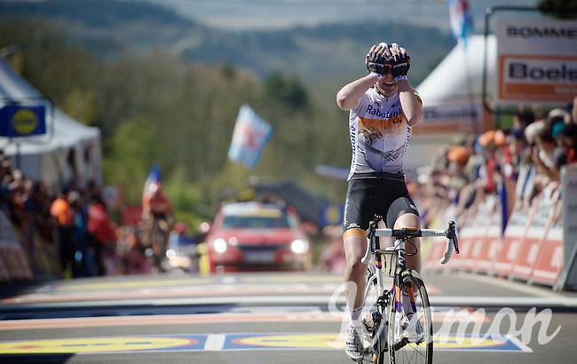 Anna van der Breggen (NLD/Rabobank-Liv) wins the Flèche for & 2nd consecutive time<br /> <br /> Flèche Wallonne 2016