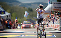 Anna van der Breggen (NLD/Rabobank-Liv) wins the Flèche for & 2nd consecutive time<br /> <br /> Flèche Wallonne 2016