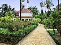 Royal Gardens in Sevilla, Spain.