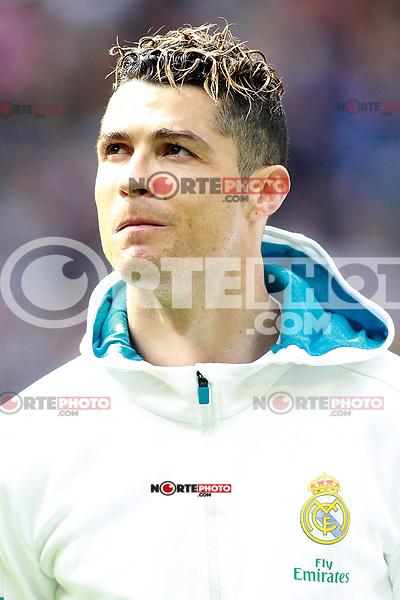 Real Madrid's Cristiano Ronaldo during La Liga match. April 8,2018. (ALTERPHOTOS/Acero) NortePhoto.com