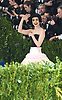 Lily Collins attends the Costume Institute Gala at the Metropolitan Museum of Art honoring Rei Kawakubo/ Comme des Garcons: Art of the In-Between on May 1, 2017 in New York, New York, USA. <br /> <br /> photo by Robin Platzer/Twin Images<br />  <br /> phone number 212-935-0770