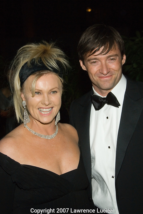 Deborra Lee Furness and Hugh Jackman