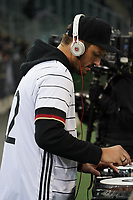 DJ Teddy o legt auf - 16.11.2019: Deutschland vs. Weißrussland, Borussia Park Mönchengladbach, EM-Qualifikation DISCLAIMER: DFB regulations prohibit any use of photographs as image sequences and/or quasi-video.
