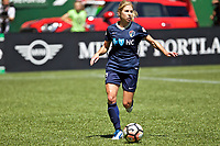 Portland, OR - Saturday July 15, 2017: Mccall Zerboni during a regular season National Women's Soccer League (NWSL) match between the Portland Thorns FC and the North Carolina Courage at Providence Park.