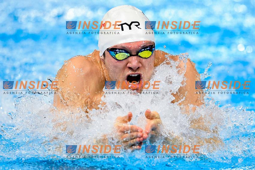 MILLER Cody USA<br /> Men's 100m Breaststroke<br /> 13th Fina World Swimming Championships 25m <br /> Windsor  Dec. 6th, 2016 - Day01<br /> WFCU Centre - Windsor Ontario Canada CAN <br /> 20161206 WFCU Centre - Windsor Ontario Canada CAN <br /> Photo &copy; Giorgio Scala/Deepbluemedia/Insidefoto
