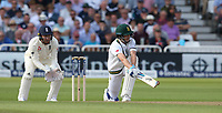 South Africa's Chris Morris plays a reverse sweep<br /> <br /> Photographer Stephen White/CameraSport<br /> <br /> Investec Test Series 2017 - Second Test - England v South Africa - Day 1 - Friday 14th July 2017 - Trent Bridge - Nottingham<br /> <br /> World Copyright &copy; 2017 CameraSport. All rights reserved. 43 Linden Ave. Countesthorpe. Leicester. England. LE8 5PG - Tel: +44 (0) 116 277 4147 - admin@camerasport.com - www.camerasport.com