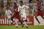 Oman vs Iraq during the Olympic Preliminary Qualifier Group C match on April 28, 2004  at the Sultan Qaboos Sports Complex in Muscat, Kuwait. Photo by World Sport Group