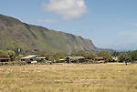 Hawaii: Molokai, leper colony at Kalaupapa, typical housing..Photo himolo156-71863.Photo copyright Lee Foster, www.fostertravel.com, lee@fostertravel.com, 510-549-2202