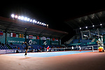 Yosuke Watanuki &  Yuya Ito(JPN) , <br /> AUGUST 20, 2018 - Tennis : <br /> Men's Doubles Round of 32<br /> at Jakabaring Sport Center Tennis Court <br /> during the 2018 Jakarta Palembang Asian Games <br /> in Palembang, Indonesia. <br /> (Photo by Yohei Osada/AFLO SPORT)
