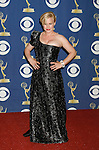 LOS ANGELES, CA. - September 20: Patricia Arquette  poses in the press room at the 61st Primetime Emmy Awards held at the Nokia Theatre on September 20, 2009 in Los Angeles, California.