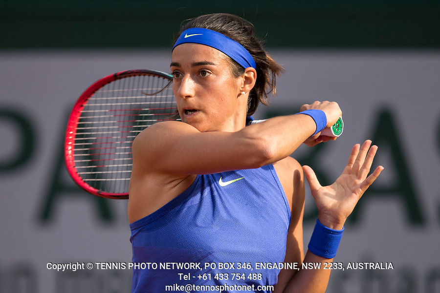 CAROLINE GARCIA (FRA)<br /> <br /> TENNIS - FRENCH OPEN - ROLAND GARROS - ATP - WTA - ITF - GRAND SLAM - CHAMPIONSHIPS - PARIS - FRANCE - 2017  <br /> <br /> <br /> <br /> &copy; TENNIS PHOTO NETWORK