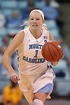 02 November 2016: North Carolina's Taylor Koenen. The University of North Carolina Tar Heels hosted the Carson-Newman University Lady Eagles at Carmichael Arena in Chapel Hill, North Carolina in a 2016-17 NCAA Women's Basketball exhibition game. UNC won the game 96-70.