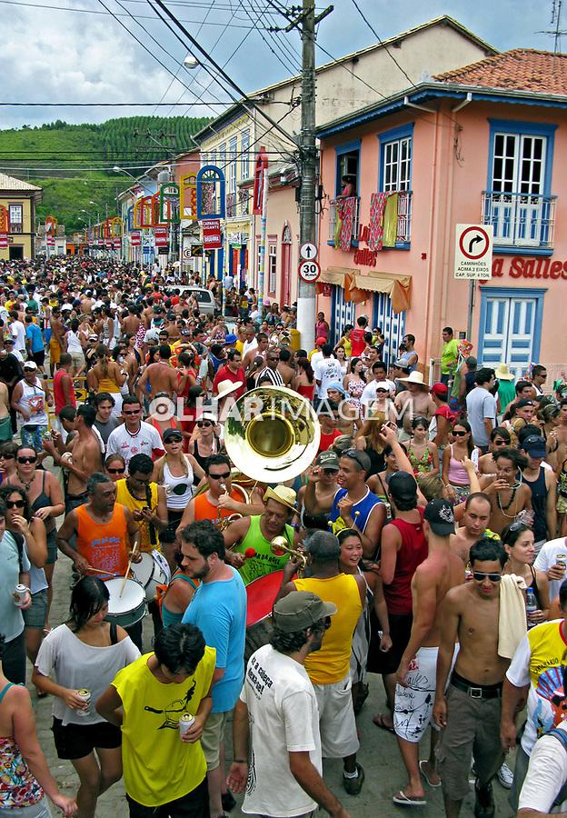 Carnaval de rua em Paraitinga. São Paulo. 2008. Foto de Caetano Barreira.
