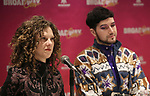 Ellie Heyman and Max Vernon during a panel for BroadwayHD and the future of capturing stage performances for New Musicals at New York Hilton Midtown on January 13, 2019 in New York City.