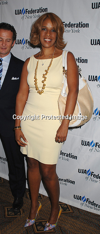 Gayle King..at The UJA-Federation of New York's Music Visionary Award Luncheon  honoring Clive Davis on July 26, 2007 ..at The Pierre Hotel. ..Robin Platzer, Twin Images....212-935-0770