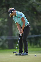 Brooke M. Henderson (CAN) barely misses her birdie putt on 10 during round 4 of the 2018 KPMG Women's PGA Championship, Kemper Lakes Golf Club, at Kildeer, Illinois, USA. 7/1/2018.<br /> Picture: Golffile | Ken Murray<br /> <br /> All photo usage must carry mandatory copyright credit (&copy; Golffile | Ken Murray)