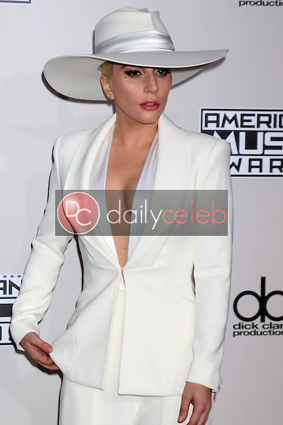 Lady Gaga<br /> at the 2016 American Music Awards, Microsoft Theater, Los Angeles, CA 11-20-16<br /> David Edwards/DailyCeleb.com 818-249-4998