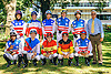 Group of Amateur Riders before The Longines International Gentlemen Fegentri race at Delaware Park on 9/12/16