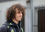 Chelsea's David Luiz arrives for the match during the Premier League match at Selhurst Park Stadium, London. Picture date December 17th, 2016 Pic David Klein/Sportimage