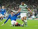:: RANGERS' KYLE LAFFERTY TACKLES CELTIC'S EMILIO IZAGUIRRE  ::