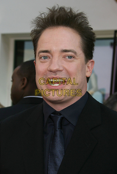"BRENDAN FRASER.""The Mummy: Tomb Of The Dragon Emperor"" Los Angeles Premiere held at the Gibson Amphitheatre, Universal City, California, USA, .27 July 2008..portrait headshot black tie .CAP/ADM/MJ.©Michael Jade/Admedia/Capital Pictures"