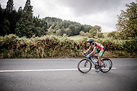 Christopher Sysmonds (GHA)<br /> Elite Men Individual Time Trial<br /> from Northhallerton to Harrogate (54km)<br /> <br /> 2019 Road World Championships Yorkshire (GBR)<br /> <br /> ©kramon