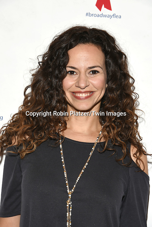 Mandy Gonzalez attends the Broadway Cares/Equity Fights Aids Flea Market and Grand Auction on September 25, 2016 at the Music Box Theatre and in Shubert Ally in New York, New York, USA. <br /> <br /> photo by Robin Platzer/Twin Images<br />  <br /> phone number 212-935-0770