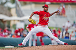 24 February 2019: St. Louis Cardinals top prospect pitcher Genesis Cabrera on the mound during a Spring Training game against the Washington Nationals at Roger Dean Stadium in Jupiter, Florida. The Cardinals fell to the Nationals 12-2 in Grapefruit League play. Mandatory Credit: Ed Wolfstein Photo *** RAW (NEF) Image File Available ***