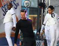 NEW YORK, NY - DECEMBER 4: Hugh Jackman performs on NBC's Today Show promoting his World Tour in New York City on December 4, 2018. Credit: John Barrett/PHOTOlink /MediaPunch