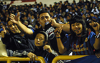TUNJA -COLOMBIA, 07-09-2013. Aspecto del encuentro entre Boyacá Chicó y Millonarios en la fecha 5 Liga Postobón II 2013 realizado en el estadio La Independencia en Tunja./ Aspect of match between Boyaca Chico and Millonarios during 5th date of Postobon  League 2013-1 at La Independencia stadium in Tunja. Photo: VizzorImage/Jose Miguel Palencia/STR