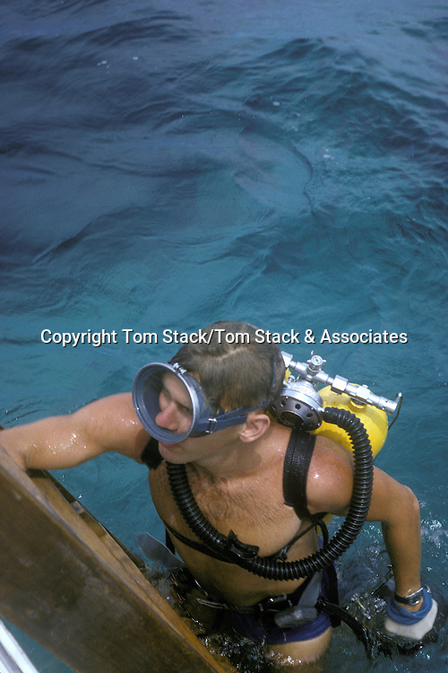 Historical Scuba diving, circa 1963