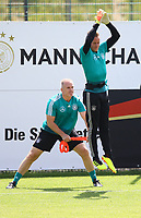 Torwart Marc-Andre ter Stegen (Deutschland Germany) beim Sprungtraining - 28.05.2018: Training der Deutschen Nationalmannschaft zur WM-Vorbereitung in der Sportzone Rungg in Eppan/Südtirol