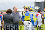 Jockeys and owners at  the The North Kerry Harriers Point to Point in Ballybeggan Racecourse on Saturday