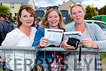Picking winners all day from the parade ring were l-r; June O'Connell, Angela McAllen & Emma Louise O'Driscoll.