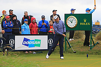 James Sugrue (IRL)(AM) on the 10th during the preview of the the 148th Open Championship, Portrush golf club, Portrush, Antrim, Northern Ireland. 17/07/2019.<br /> Picture Thos Caffrey / Golffile.ie<br /> <br /> All photo usage must carry mandatory copyright credit (© Golffile | Thos Caffrey)