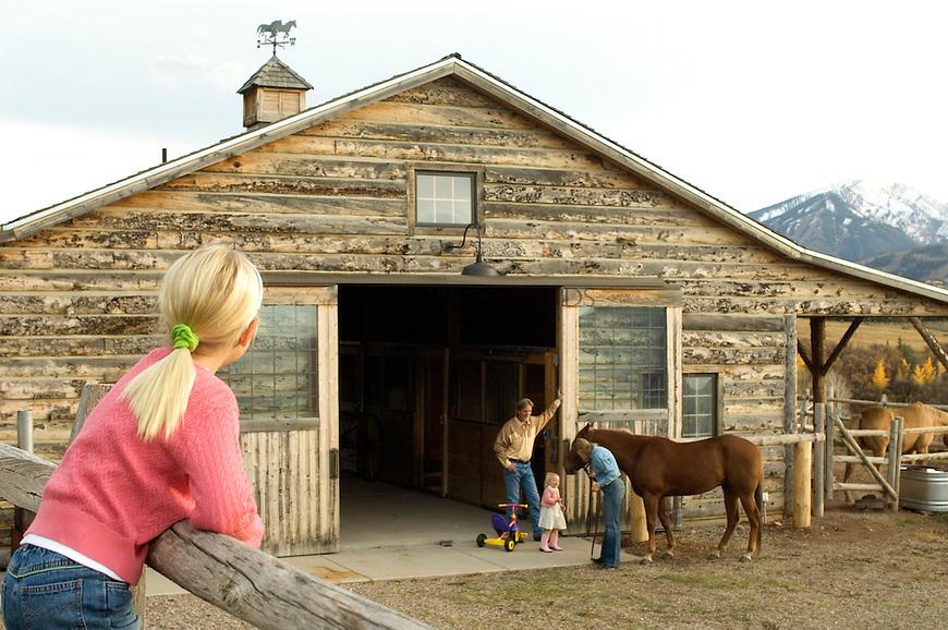 Ranch in Aspen, CO. © Michael Brands. 970-379-1885.
