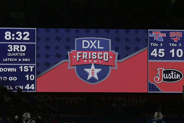 FRISCO, DECEMBER 20: SMU v Louisiana Tech at the Frisco DXL Bowl on December 20, 2017 in Frisco Texas. (Photo: (Rick Yeatts Photography / Matt Pearce