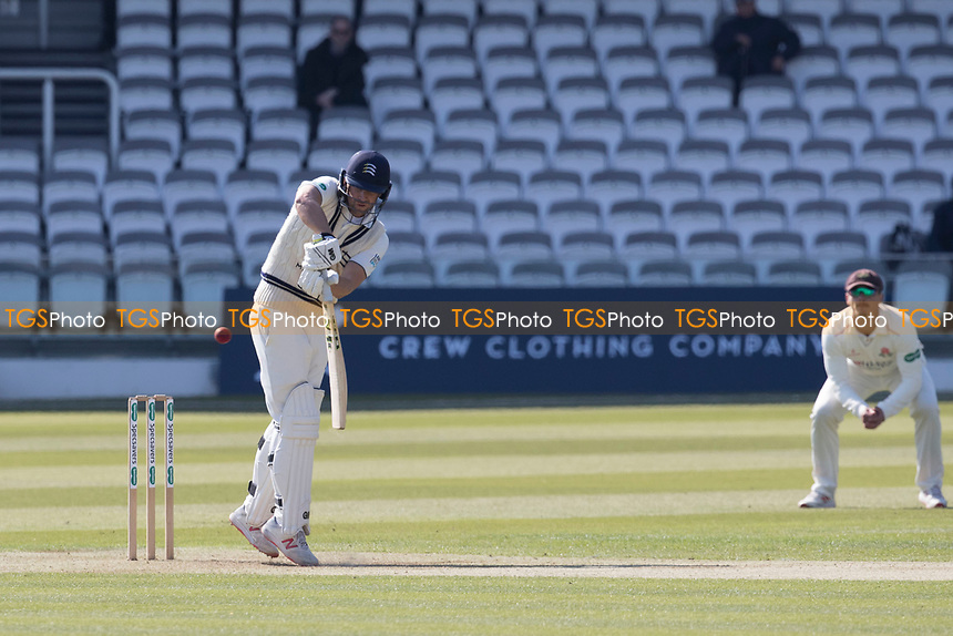 David Malan of Middlesex CCC plays the ball fine to leg during Middlesex CCC vs Lancashire CCC, Specsavers County Championship Division 2 Cricket at Lord's Cricket Ground on 11th April 2019